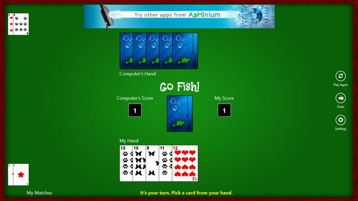 play free go fish card games on pc or mobile devices